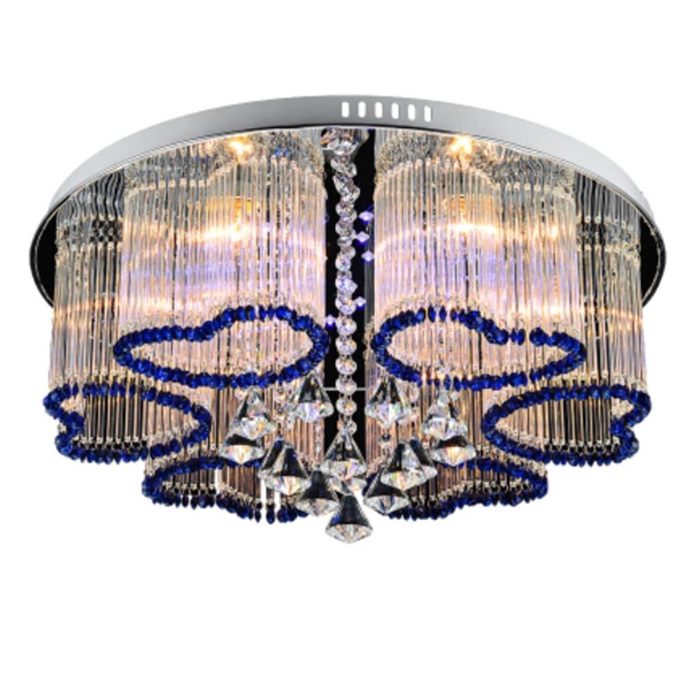 Hochwertig FWEF Kristall Kronleuchter Europäische Einfache Moderne Persönlichkeit  Romantische Hochzeit Raumbeleuchtung Schlafzimmer Wohnzimmer Speise Lampe  ...