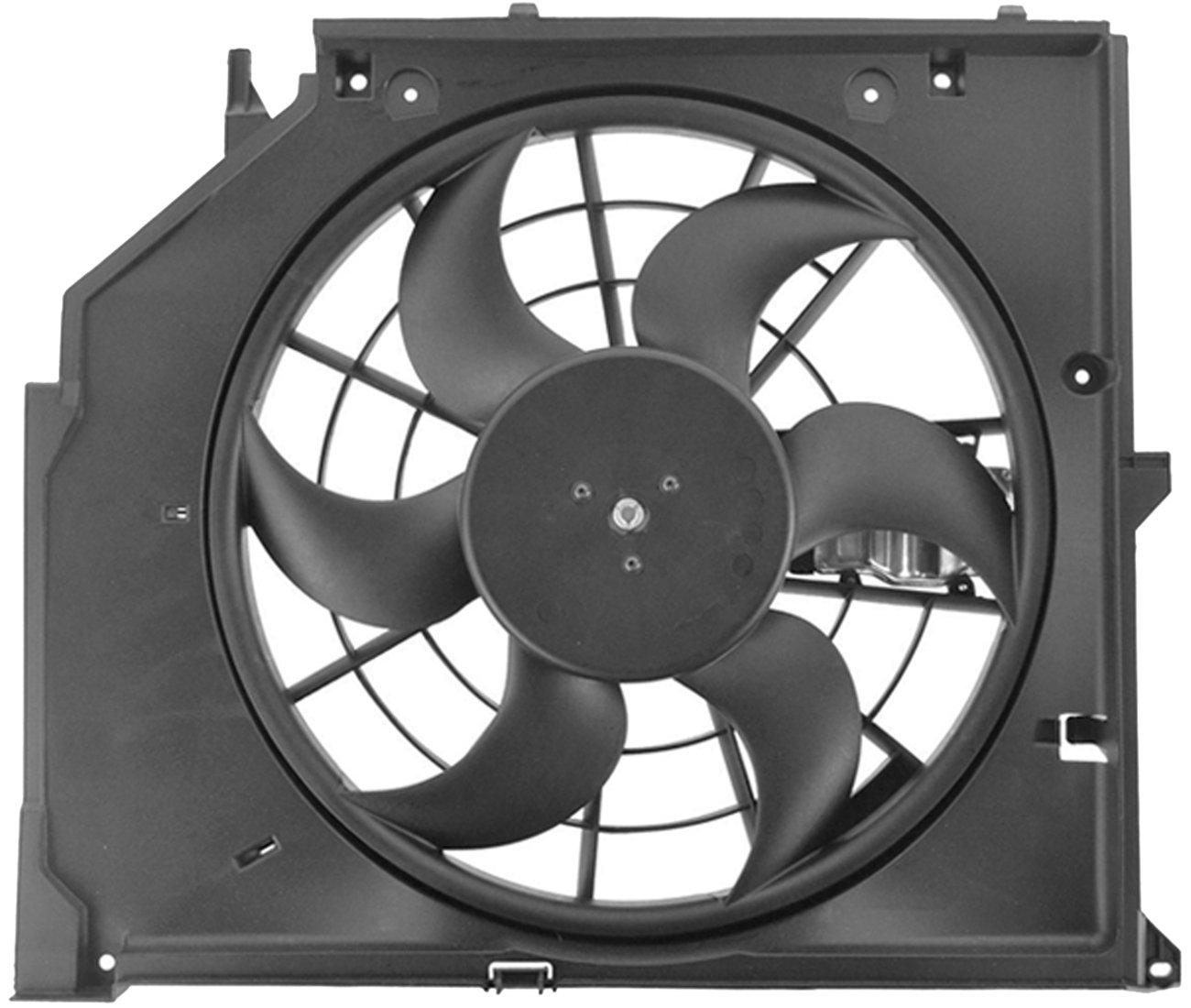 amazon topaz 17117561757 e46 radiator cooling fan assembly for 1996 BMW 328Is Review amazon topaz 17117561757 e46 radiator cooling fan assembly for bmw 323i 325i 325xi 328i 330i automotive