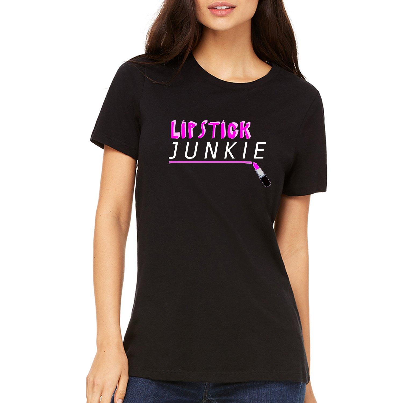 Misky & Stone Lipstick Junkie Vibrant Pink Super Soft T-Shirt
