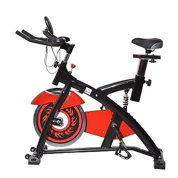 Homcom Fitness – Bicicleta elíptica de Fitness/Home Trainer Incluye, Pantalla LED, B1