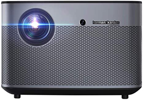 BYBYC Mini proyector, 1080p Full HD 4k Smart 3D Projector 1350 ...