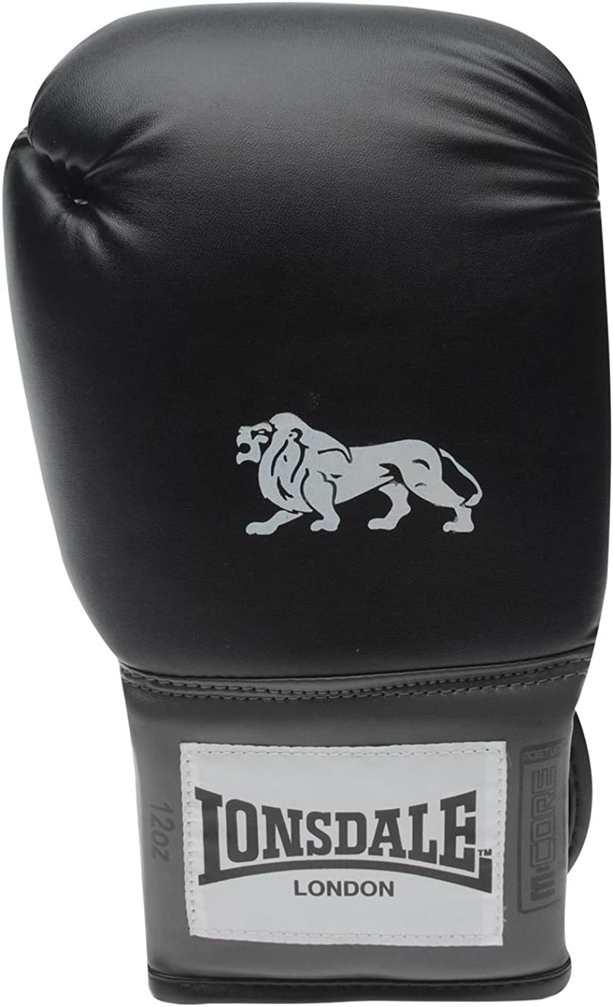 Lonsdale Pro Entrenar Guantes Punching Mitones De Sparring Accesorio Ropa