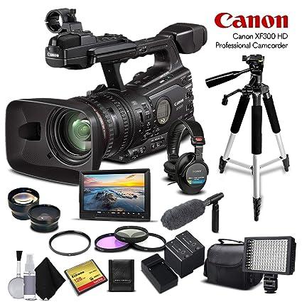 Amazon.com: Canon XF300 HD Professional Camcorder (4457B001 ...
