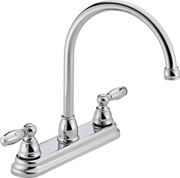 Peerless P299565LF Apex Two Handle Kitchen Faucet, Chrome - Touch On ...