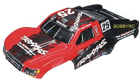 amazon bobbyrc slash 58034 2 red black oba body traxxas fits Traxxas Tmaxx bobbyrc slash 58034 2 red black oba body traxxas fits fits all 1