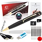 Eternal eye Caméra Cachée Espion Stylo 1080p. Sans Voix, une véritable Vidéo HD, SD 16 Go + Batterie image optimisé et 8 comble d'encre Inc. Executive DVR multifonction. Un cadeau idéal