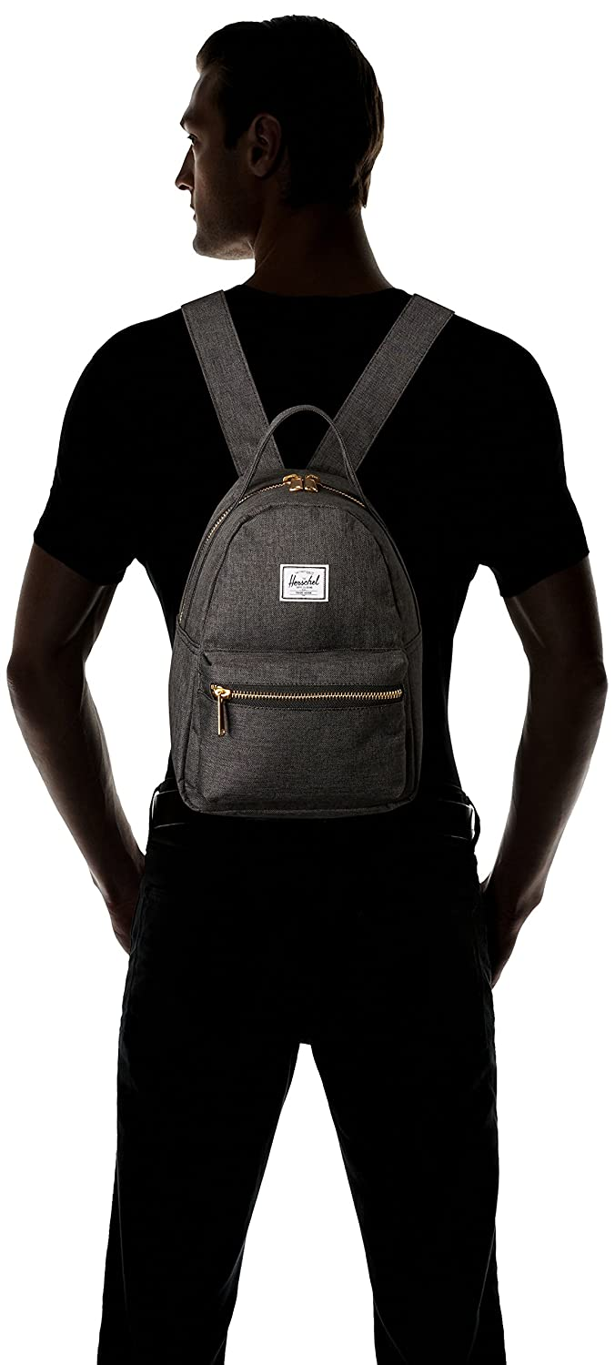 Herschel Black Crosshatch