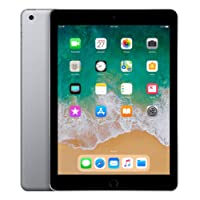 "Apple iPad, 9,7"" mit WiFi, 128 GB, 2018, Space Grau"