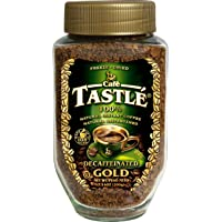 Cafe Tastle 脱咖啡因 冷冻干速溶咖啡, 7.14 Ounce/200g
