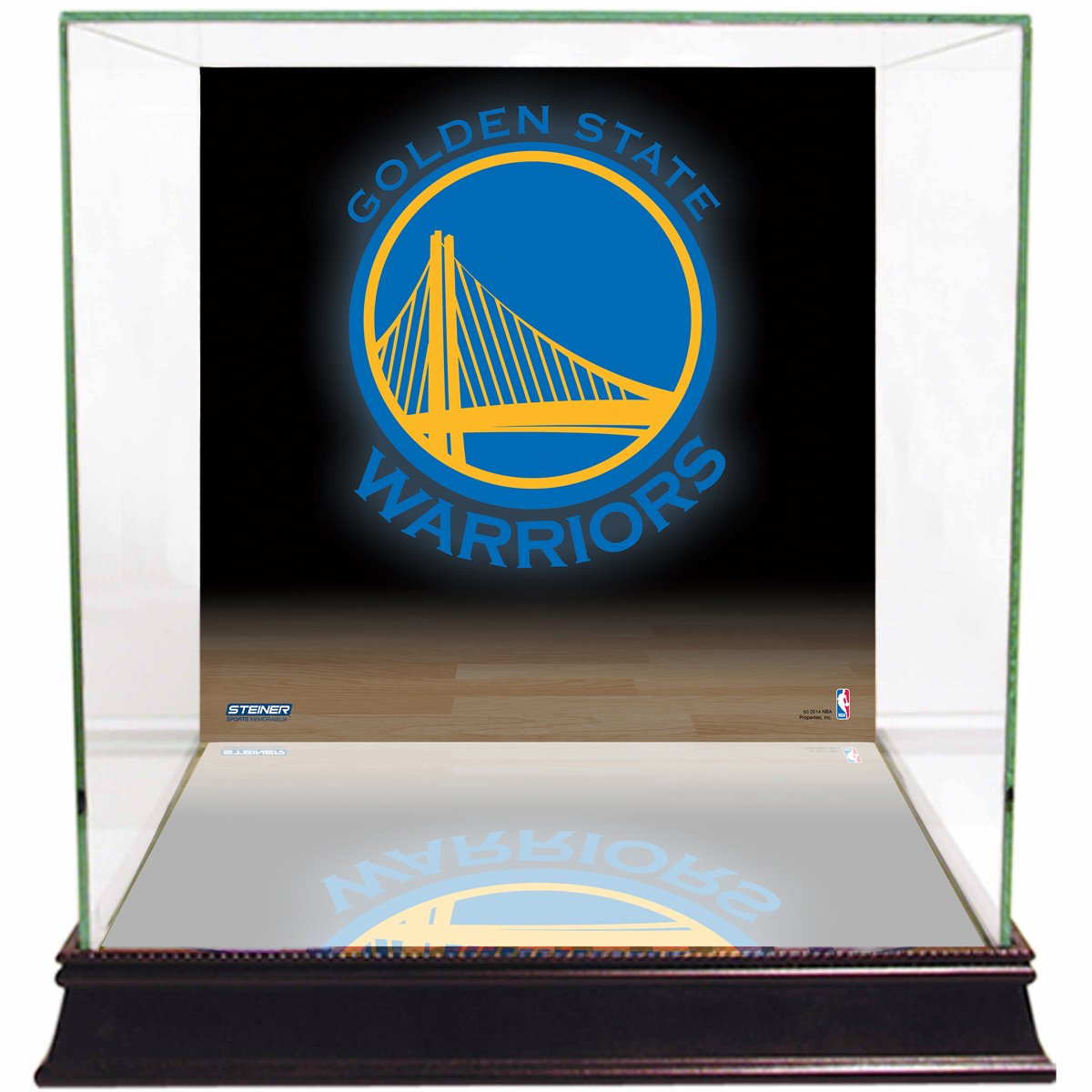 Steiner Sports NBA Display Case Team Logo CASEBKU0003CB