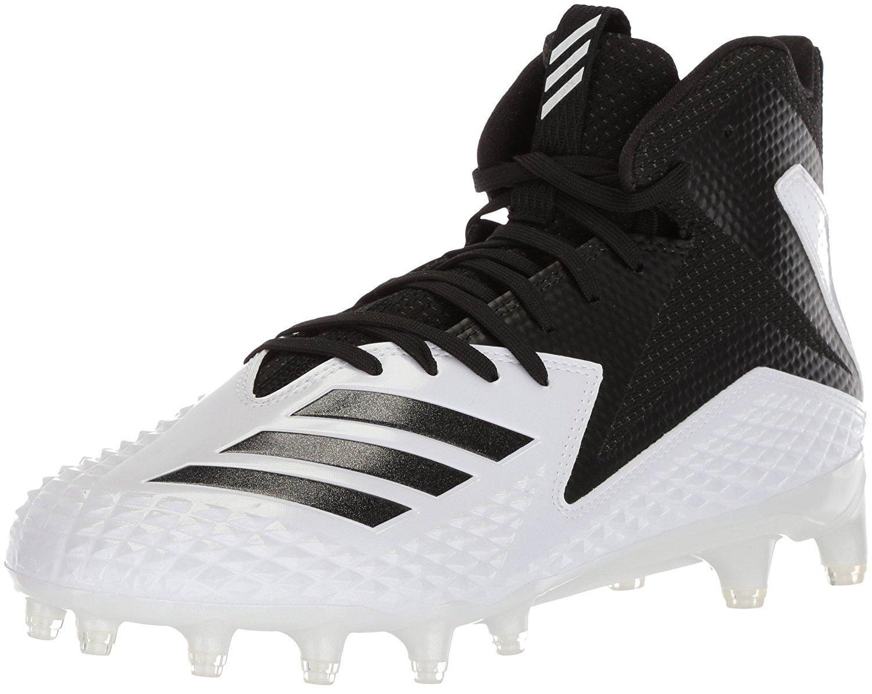 adidas Men's Freak X Carbon Mid Football Shoe, White/Black/Black, 6.5 M US by adidas