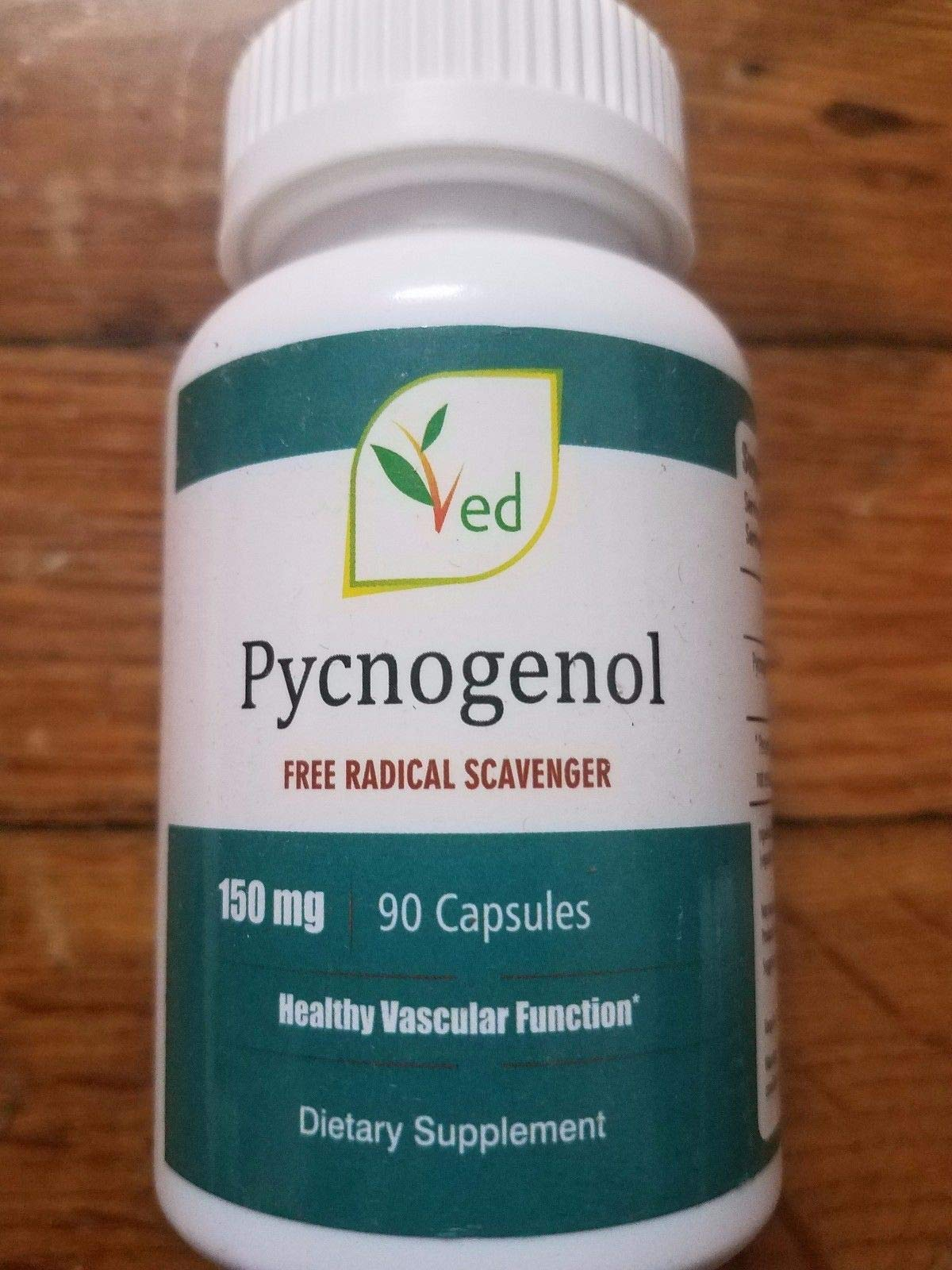 Pycnoge 150mg 90 Capsules Antioxidants Natural and Organic by VED