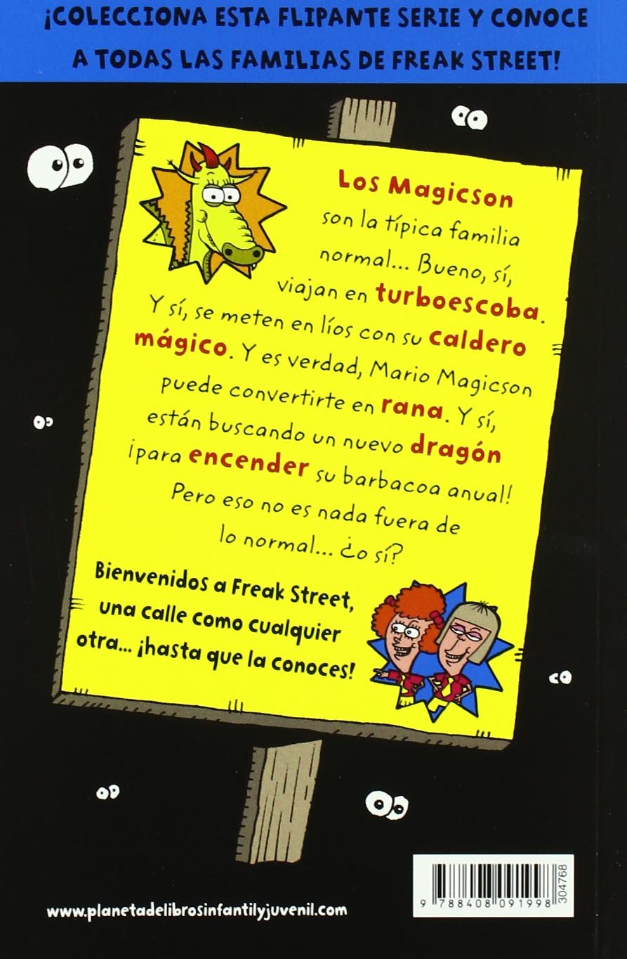 Los Magicson: Freak Street: Amazon.es: Knife & Packer, Eva Girona: Libros