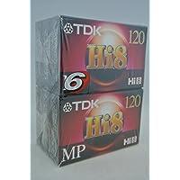 TDK Hi8 MP120 Premium Performance Camcorder Videotape (6-pack)