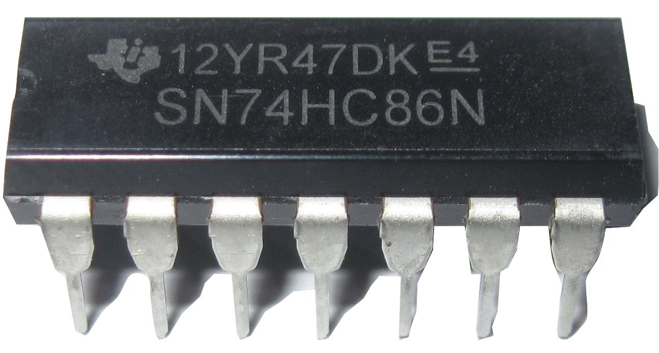 20 Pieces SN74HC86 74HC86 Quad 2 Input Exclusive OR Gate DIP14