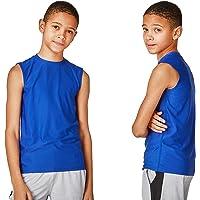 Bnwt 3 x Boys Super Cool Vest Tops Sleeveless Tops Fits 9-12m 12-18m 1 1//2-2 Yrs