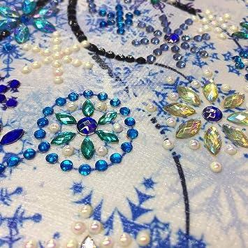 Lorjoyx DIY del Rhinestone de Cuatro Estaciones Árbol Pintura Cristal árbol otoño Invierno Bordado de Punto de Cruz Fotos Diamond Decoración: Amazon.es: ...
