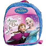 Frozen Plush Bag, Blue/Pink (12-inch)