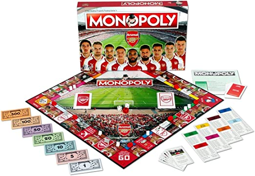 Winning Moves Arsenal FC Monopoly Juego de Mesa: Amazon.es: Juguetes y juegos