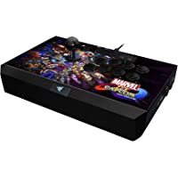 Razer Panthera Arcade Stick for PS4: Fully Mod-Capable - Sanwa Joystick and Push Buttons - Internal Storage Compartment - Marvel vs Capcom Edition