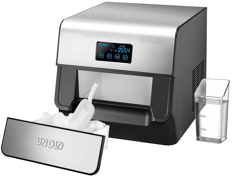 Unold Mini Kühlschrank : Amazon unold eiswurfelbereiter edel l w edelstahl