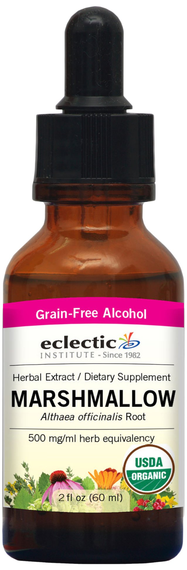 Eclectic Marshmallow Root O, Red, 2 Fluid Ounce