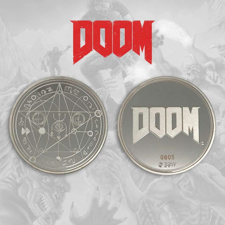FaNaTtik Doom Collectable Coin Logo Coins