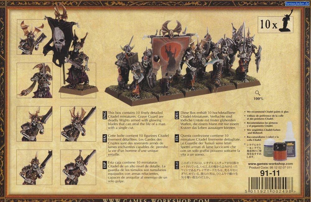 Games Workshop Warhammer Fantasy Vampire Counts Grave Guard by Games Workshop (Image #1)