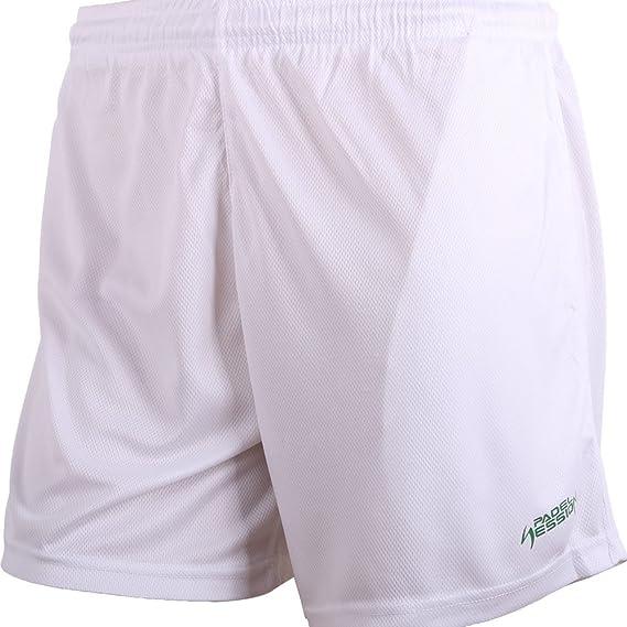 Padel Session Pantalon Corto Tecnico Blanco: Amazon.es: Deportes y aire libre