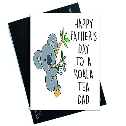 Divertida tarjeta del día del padre con texto en inglés ...