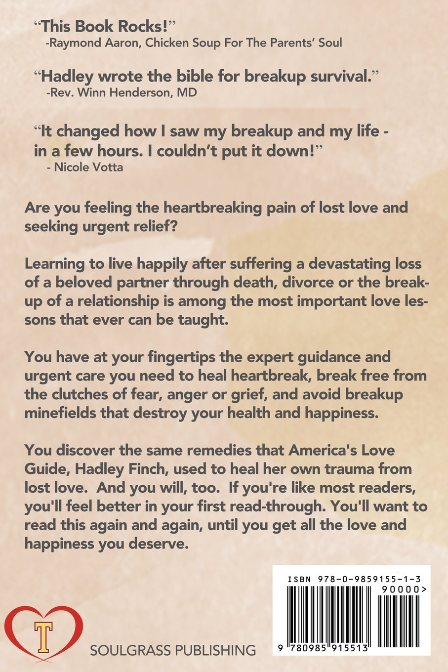 911 Breakup Survival: How To Get Over A Breakup And Love Again, Like It's  The First Time: Hadley Finch: 9780985915513: Amazon: Books
