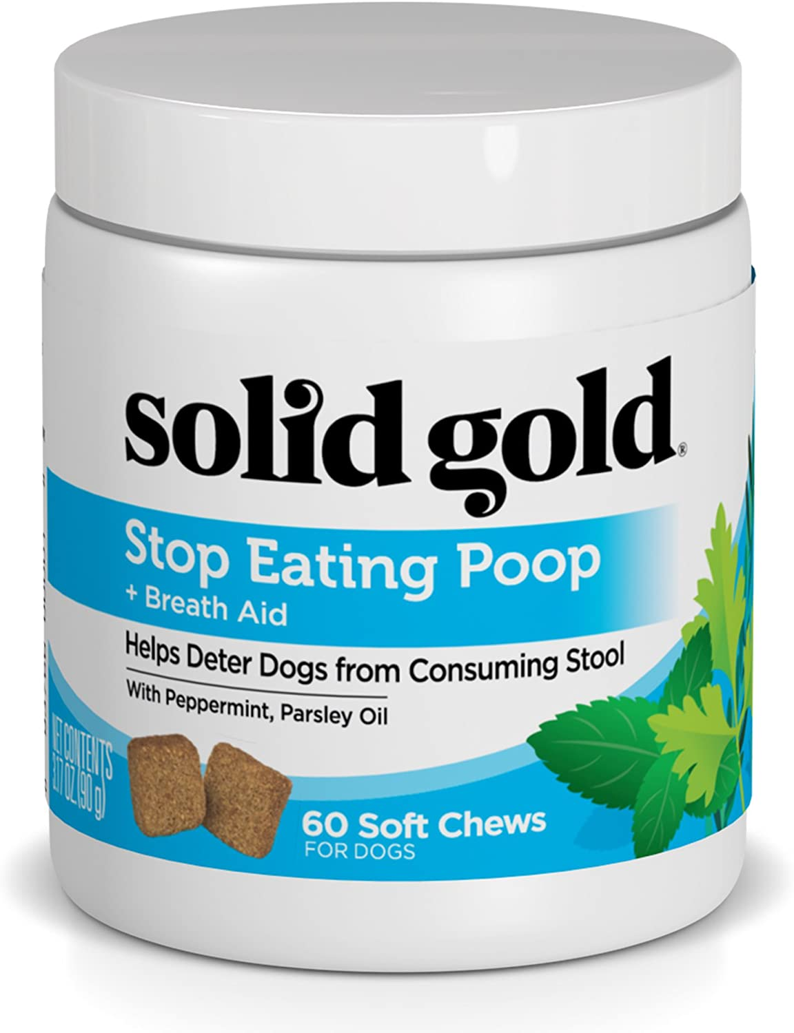 how much pumpkin to give dog to stop eating poop