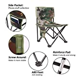 BubbyBear Small Folding Chair,Portable Lightweight