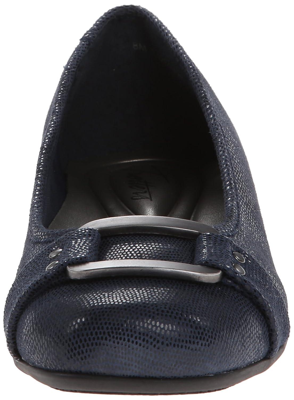Trotters Women's Sizzle Flat B00HQ1HTNM Suede 5 B(M) US|Dark Blue Suede B00HQ1HTNM fc0544