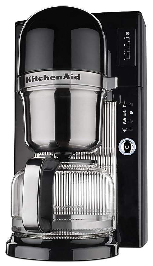 KitchenAid KCM0801OB - Cafetera (Independiente, Cafetera de filtro, De café molido, Negro