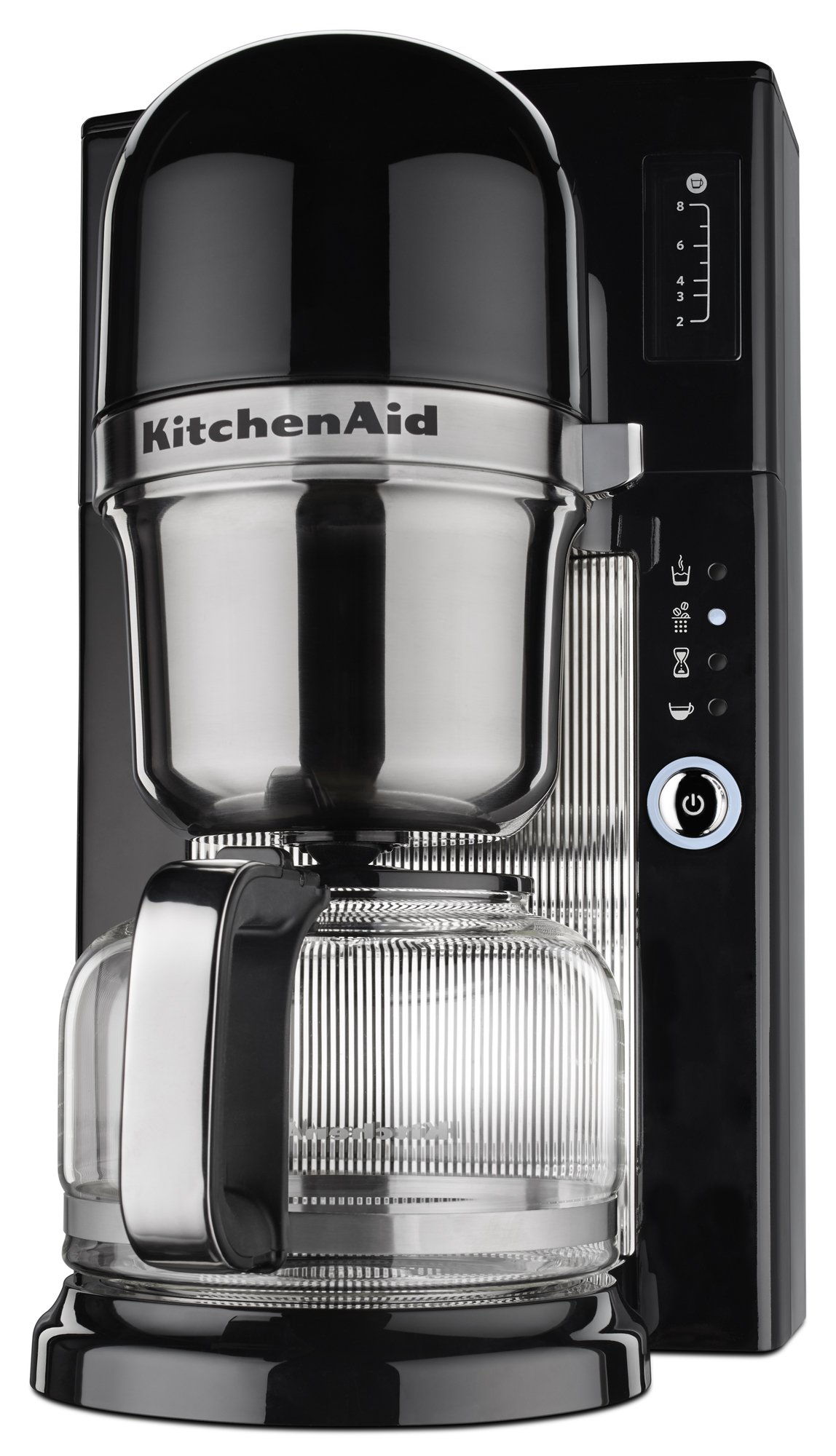 KitchenAid KCM0801OB Pour Over Coffee Brewer, Onyx Black