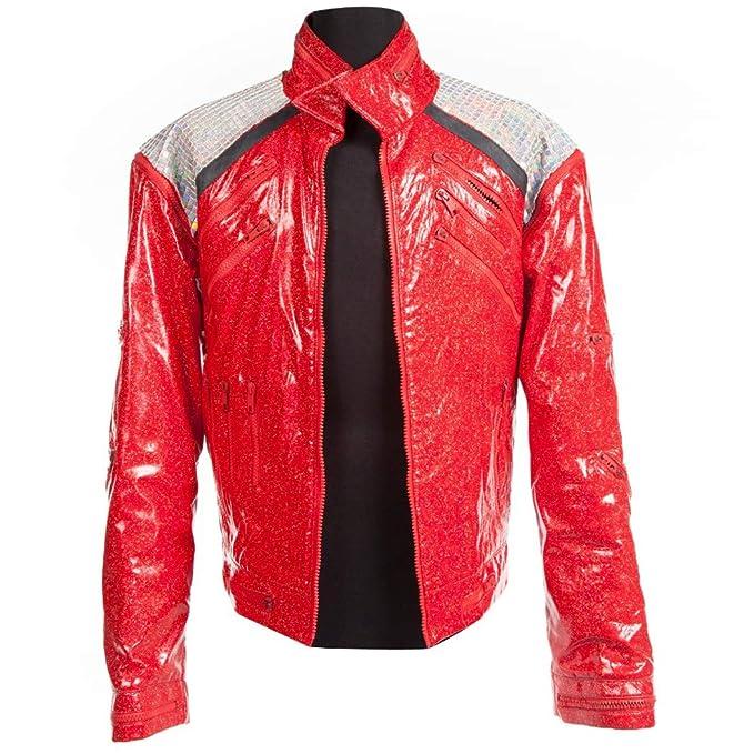Amazon.com: Chaqueta de disfraz de Michael Jackson Beat It ...