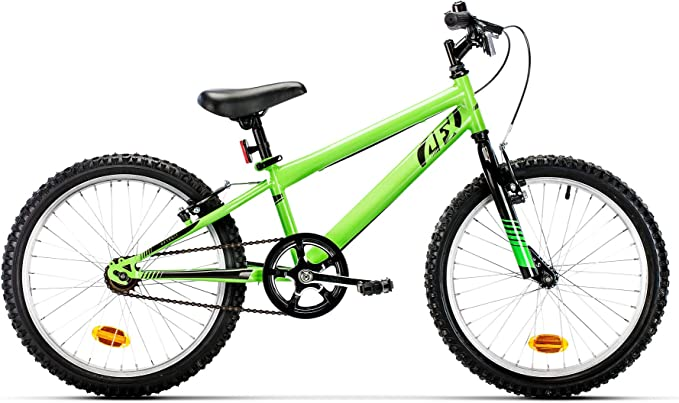 AFX Detroit Bicicleta Infantil, Niños, Verde, Largo Tubo sillín ...