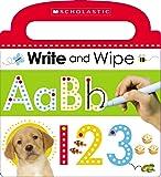 (进口原版) 学乐小小读者系列 Write and Wipe ABC 123