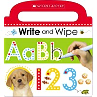 Write and Wipe ABC 123: Scholastic Early Learners (Write and Wipe)