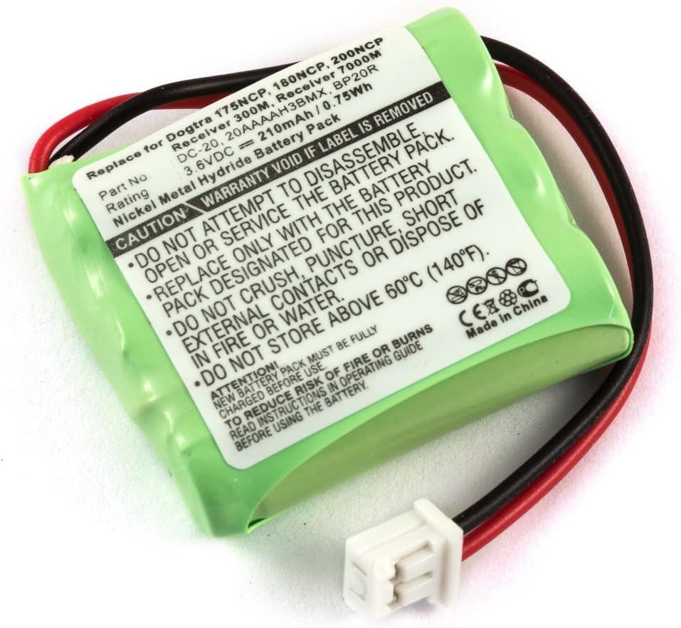 Bateria Dogtra 175NCP 202NCP Gold Ni-MH 200NCP 210 mAh 22000NCP YS 210NCP 180NCP 2