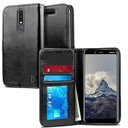 Amazon.com: ZV - Funda para Nokia 3.1 Plus (cierre magnético ...