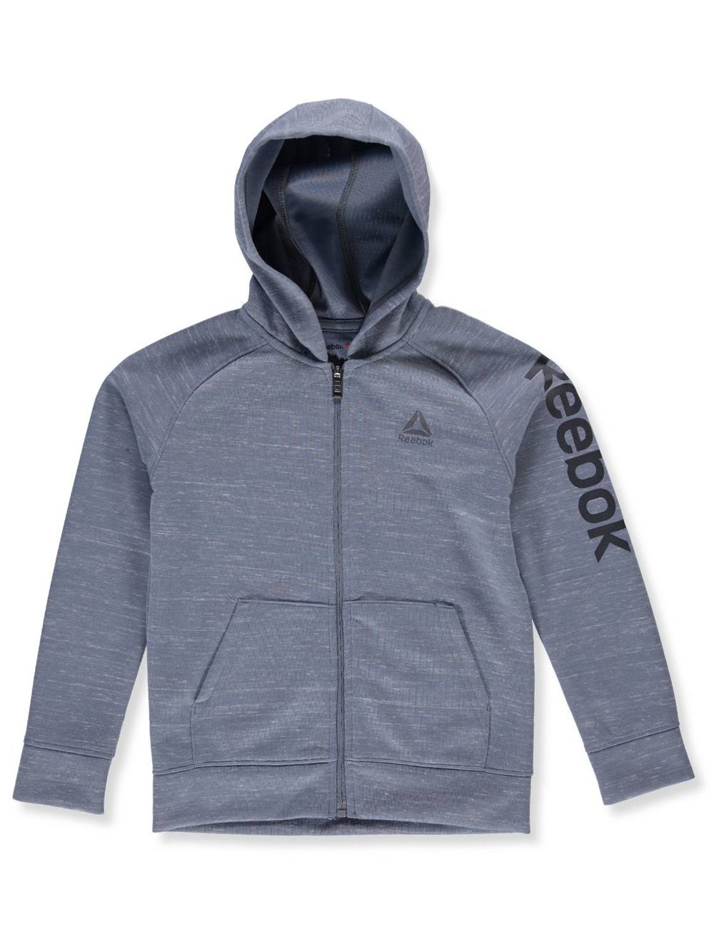 Reebok Boys Sporty Double Knit Zip-up Hooded Jacket Q_2424