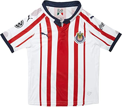 info for cc3f6 02fe7 Amazon.com: PUMA Chivas Home Kids (Boys) Soccer Jersey 2018 ...