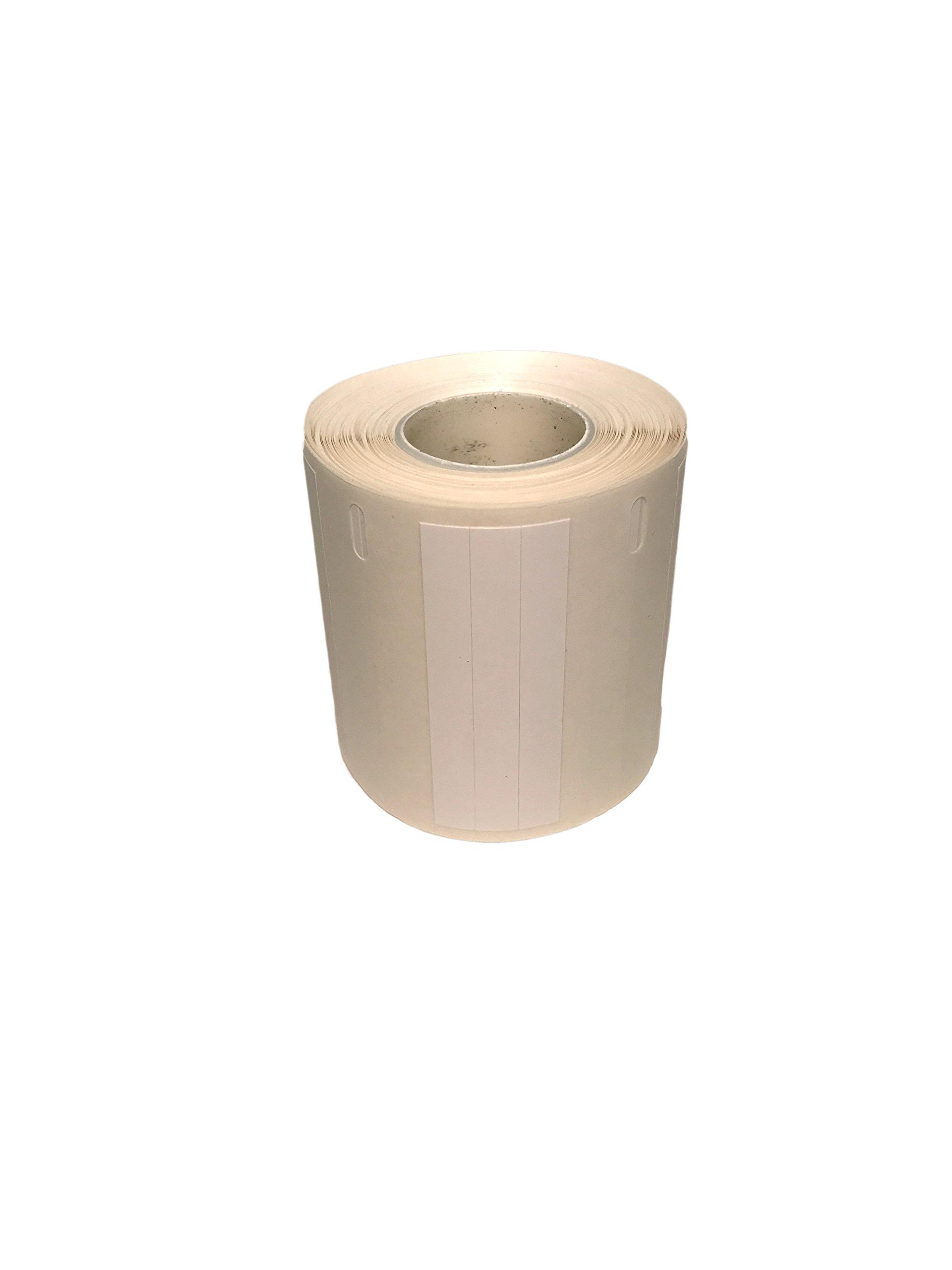 Cryo-Tag Direct Thermal Labels 9.5 mm dia, White, 0.5 ml tubes, 4000/PK