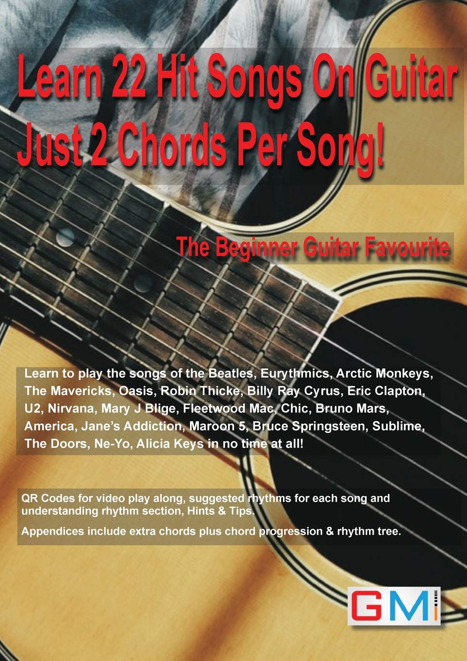 Amazon Learn 22 Hit Songs On Guitar Just 2 Chords Per Song