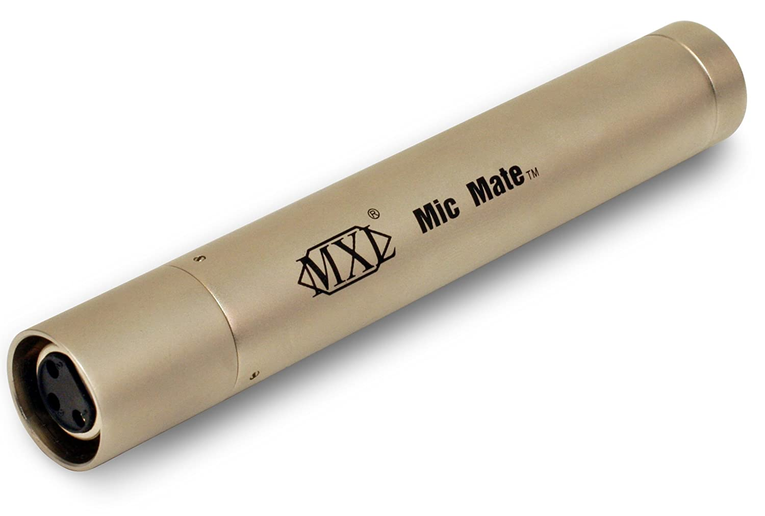 MXL MIC MATEC XLR To USB Preamp for Condenser Microphones (Silver) Marshall Electronics MXL-MICMATE