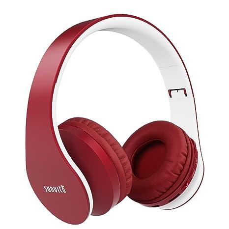 Aggiornato Cuffie Bluetooth 4 in 1 Pieghevole Wireless Over Ear Auricolari  con Mic Lettore MP3 074597388313