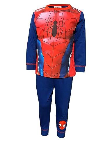 Spiderman Kinder Jungen Hose Kleinkind Pyjama Nachtwäsche Karneval Kostüm Outfit