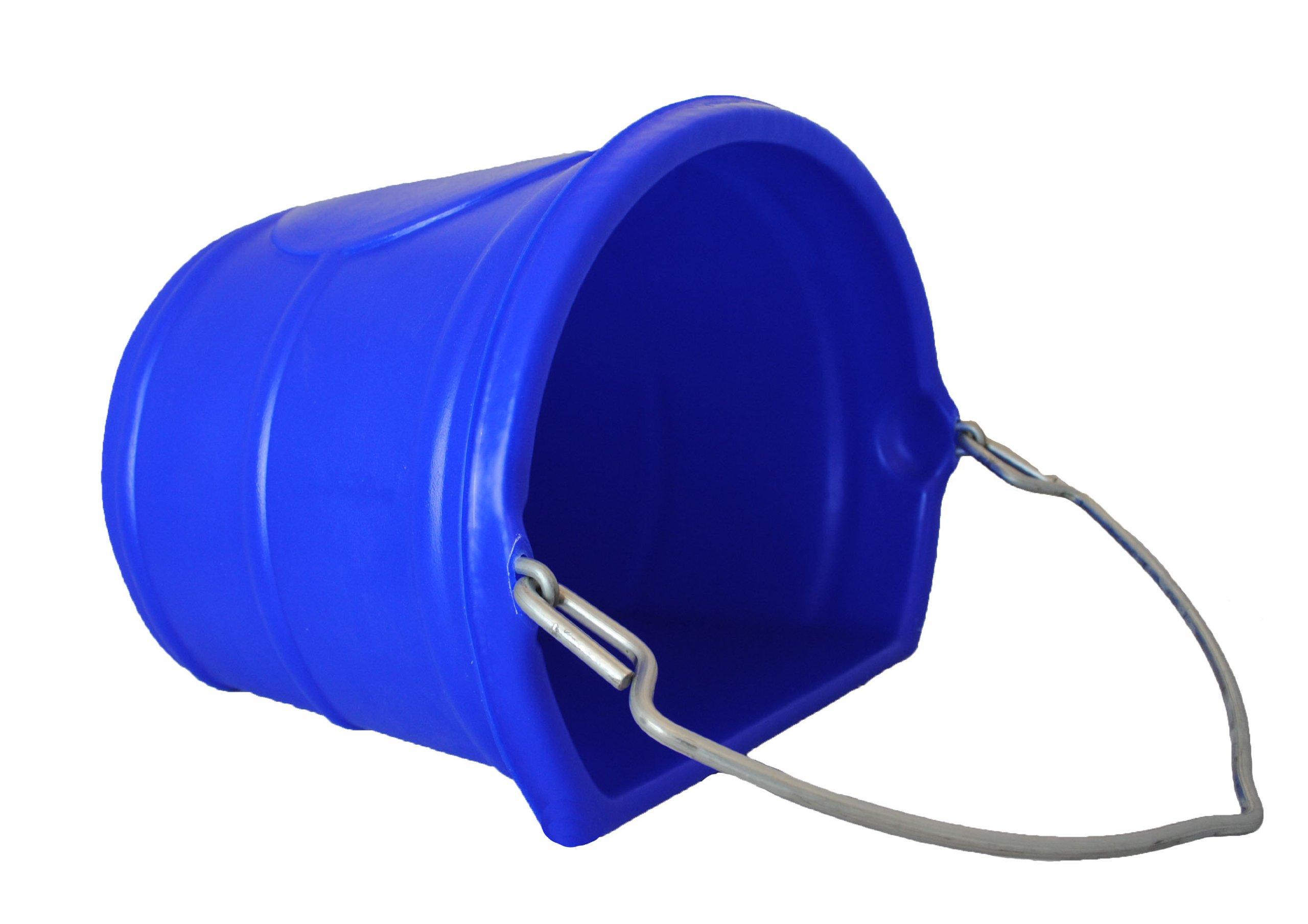 Horsemen's Pride 20 Quart Water Bucket, Blue by Horsemen's Pride